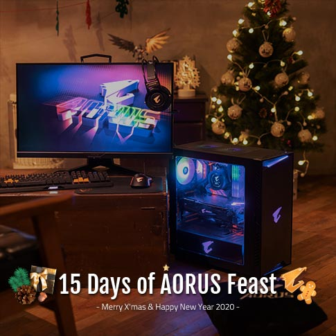 15 Days of AORUS Feast